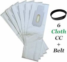 HEPA 6 PK for Oreck CC Upright Allergen Vacuum Cleaner Bags + 1 Belt Fit XL XL2