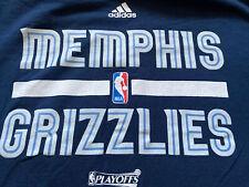 Nwt Adidas Nba Playoff Memphis Grizzlies Basketball T Shirt Sz 2X T2616
