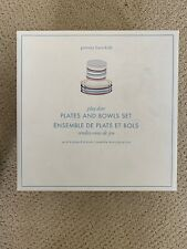 NWT Pottery Barn Kids 4 of Play date Plates and Bowls Set