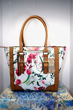 Del Mano Spring Floral Tote Size Large