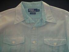 ~Polo~ Ralph Lauren Vintage Scout Workshirt L (fits XL) Faded
