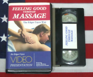 Feeling Good through Massage (VHS, How To Video) Edgar Cayce, Rare Therapy Pain