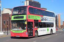 4851 BX61LME National Express West Midlands Bus 6x4 Quality Bus Photo