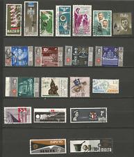 MALTE  20 timbres anciens oblitérés /T4363