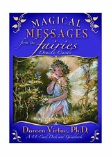 Magical Messages from the Fairies Oracle Cards: A 44-Card Deck ... Free Shipping
