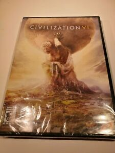 Sid Meier's Civilization VI PC DVD ROM BRAND NEW SEALED Free Shipping