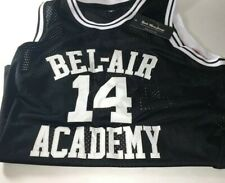 Aflgo Fresh Prince #14 Basketball Jersey Medium Will Smith w/ 4 wristbands