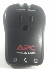 APC P1T 1-Outlet Travel Portable Plug In 120V Surge Protector