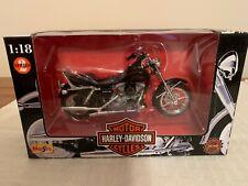 New listing Maisto 1:18 Harley-Davidson 91 Fxdb Sturgis, Series 2, In Box