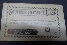 Souvenir Du Fort de Loncin - Belgium - Booklet with ten postcards