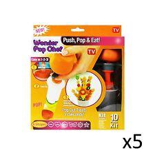 Fruits légumes en vrac gros shaper Wonder Pop chef tronçonneuse Parti Fun 10pcs X5