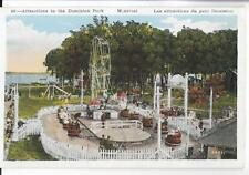 THE WHIP,FERRIS WHEEL & OTHER ATTRACTIONS~DOMINION PARK,MONTREAL,CANADA