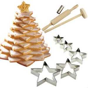 KeksAusstecher Weihnachtsbaum Keks Plätzchen Ausstecher Ausstechformen Edelstahl