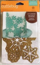 Anna Griffin Cut & Emboss Die 'Snowflake Bundle' - RARE ~ HTF! Christmas Themed