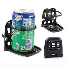 Universal Drink Bottle Cup Holder Stand Mount Car Truck Vehicle Folding Black 1x