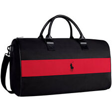 Ralph Lauren Polo Black/Red Bag - Duffle / Travel / Weekend / Holdall -BRAND NEW
