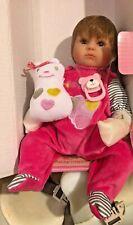 "NEW Pinky Reborn NPK 16"" Baby Doll Vinyl Lifelike Silicone Toy Doll"