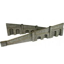 Metcalfe PO249 00/H0 Scale Tapered Retaining Wall in Stone