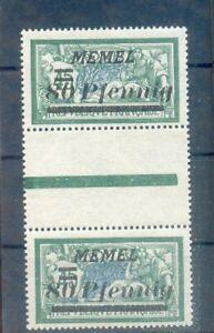 Memel 63ZS Zwischensteg**POSTFRISCH (A0177