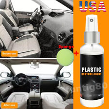 Plastic Parts Retreading Restore Agent Wax Instrument Car Cleaner Maintenance US
