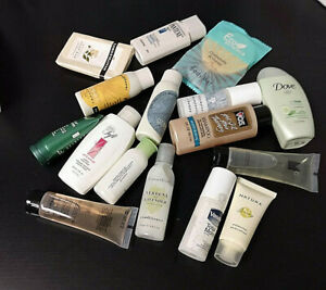 Lot of 16 Personal Care Body Products >Shampoo, Body Wash >Sample Sizes > New!