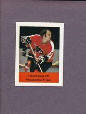1974-75 Acme Loblaws Hockey Bill Barber Philadelphia Flyers