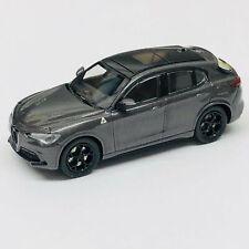 Minichamps 1/87 HO Alfa Romeo Stelvio Quadrifoglio Grey Met 870120201