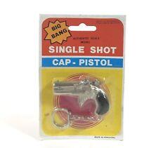 Vintage Big Bang Single Shot Cap Pistol Special Police Gun Keychain