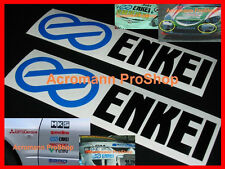"2x 6"" 15.2cm ENKEI Decal Sticker wrx sti evo gtr rx7 RPF1 NT ES JDM racing vinyl"