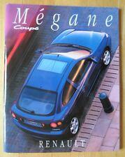 Renault megane coupé 1996 uk marketing prestige brillant sales brochure