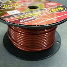 25 Foot Cut Stinger Red Custom Pro Series 8 Gauge Copper Power Wire SCPRO8R2