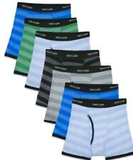 FRUIT OF THE LOOM IN FAMOUS BRAND PACKAGING 6//12 PACK BOYS BOXER BRIEF