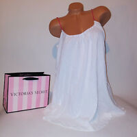 Victoria Secret Swim Wear Suit Cover Up Beach Sexy Solid White NEW