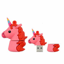 16GB 32GB Pendrive Cartoon Animal Unicorn Model USB Flash Drive Memory Stick