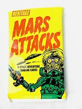 2012 Mars Attacks Sealed Pack Of 6 Topps Trading Cards. Loc#D5A