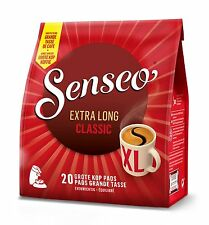 Senseo Classic Medium Regular Roast Mug Size 20 Pads Pods (eqv 40 Cups)