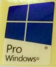 WINDOWS 10 PRO GENUINE ORIGINAL STICKER LOGO AUFKLEBER 16x23mm [815]