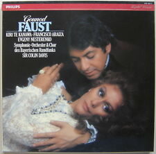 Coffret 3 LPs box Colin DAVIS, Kanawa : Gounod Faust / nice Philips digital