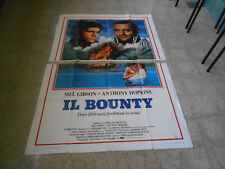 MANIFESTO IL BOUNTY MEL GIBSON ANTHONY HOPKINS 4F H0