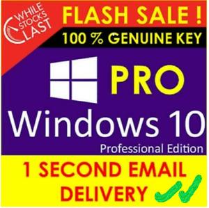 🔥Window10 Pro Activation🔥Licence Key 64-32bit 🔥Genuine Key🔑