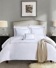 Madison Park Signature Luxury 5-Pc 1000TC Cotton Comforter Set KING White / Gray