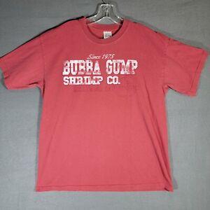 Bubba Gump Shrimp Co. Tshirt Mens Size Large Restaurant and market Hollywood CA