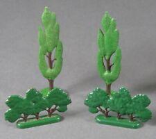 Lego 4x City Arbre Fruitier Cypress Vert Étoffe Aménagement Paysager 60er