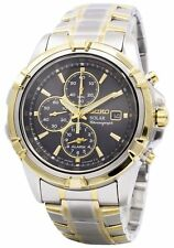 Seiko Solar Chronograph SSC142P1 SSC142P SSC142 Men's Watch