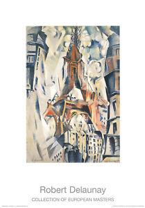 Robert Delaunay - La Tour Eiffel - Kunstdruck nach dem Original von 1910