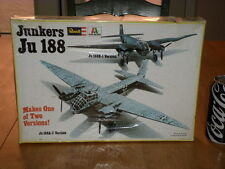 WW#2, GERMAN- JUNKERS Ju188 A-2 or E-1, Bomber Plane, Plastic Model Kit, 1/72