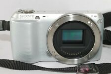 Sony Alpha NEX-C3 16.0MP Digital Camera - Silver (Body Only)