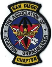 New listing Us Navy The Association Of Aviation Ordnancemen San Diego Chapter Patch