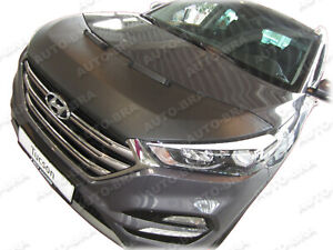 CAR HOOD BONNET BRA for Hyundai Tucson 2015 - 2020 NOSE FRONT END MASK Tuning