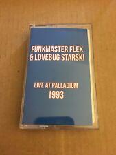 DJ Funkmaster Flex & Lovebug Starski Live at the Palladium 1993 Cassette Mixtape